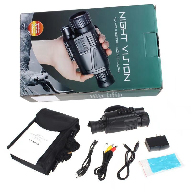 Tactical Infrared Night Vision Telescope Military Digital Monocular HD Powerful Night-Vision