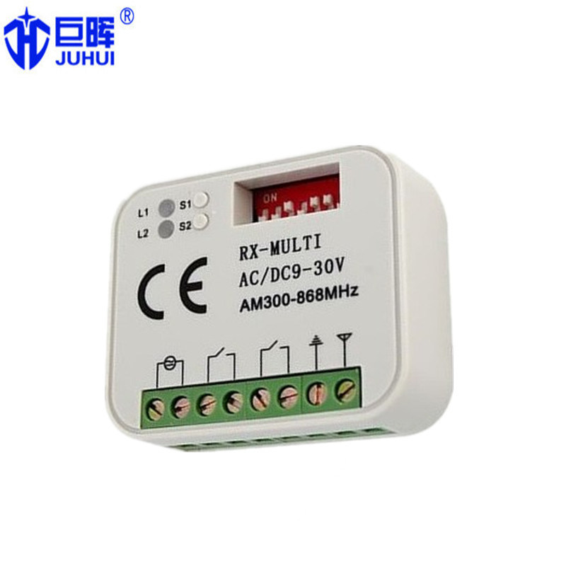 300-900MHz Universal Multi Code Receiver Compatible with Nice Bft/Nice