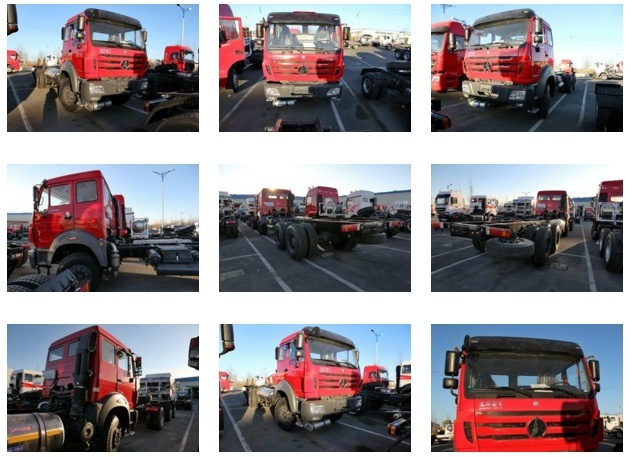 Beiben Lorry Truck for Sale 290 HP 6X4 Cargo Truck