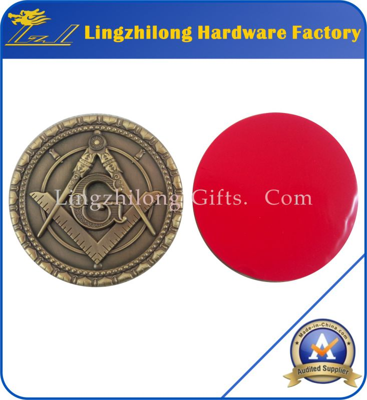 Masonic Car Emblem Badge Auto Emblem
