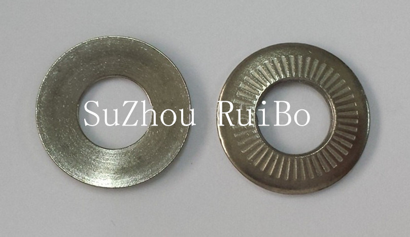 Zinc Plated Nfe25511 Single Side Tooth Washer Metal Disc Spring Washer