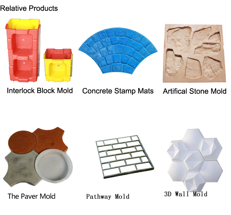 Silicon Brick Stone Mold for Wall Thin Wall Injection Mold