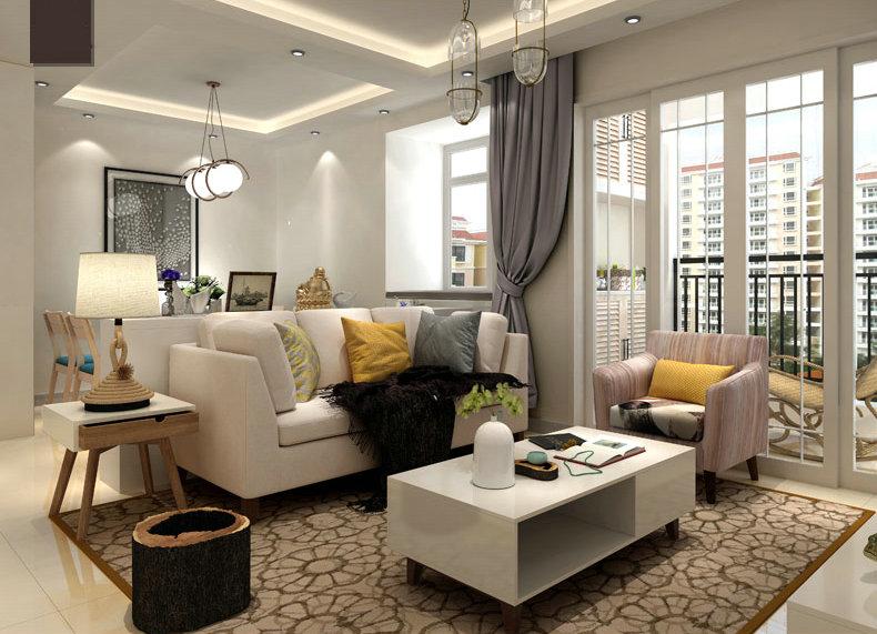 Europe Style Fabric Sofa, Modern Sofa, Simple Design Sofa (M609)