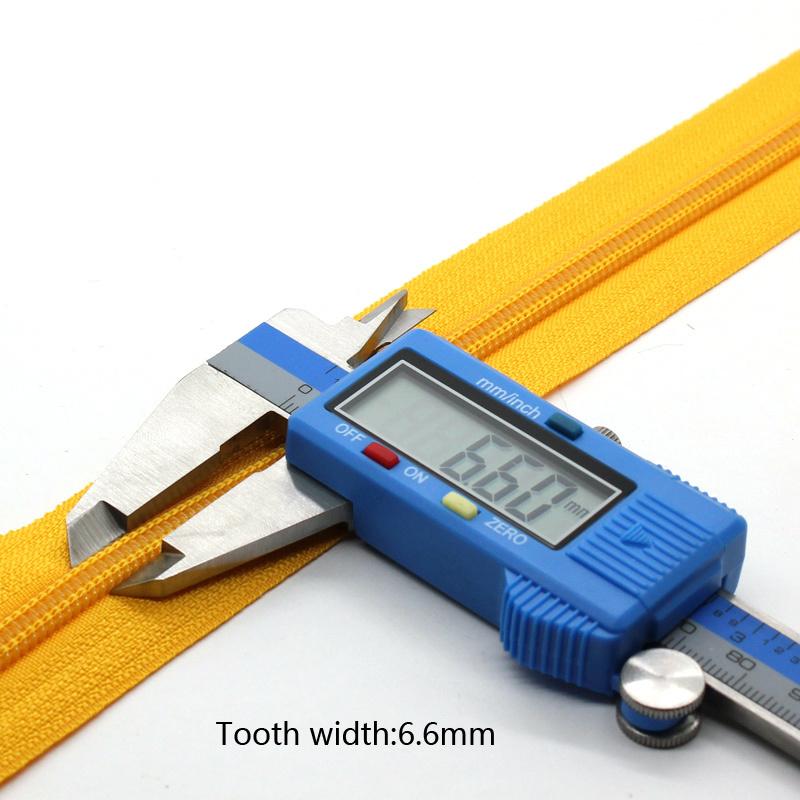 No 5 Nylon Zipper Long Chain Handbag Zipper