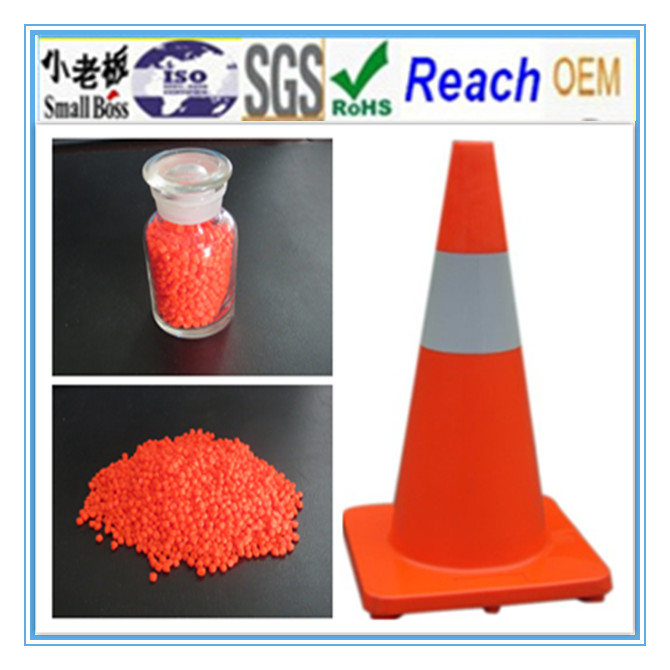 Orange PVC Cone Compound in Hot 2014 Year