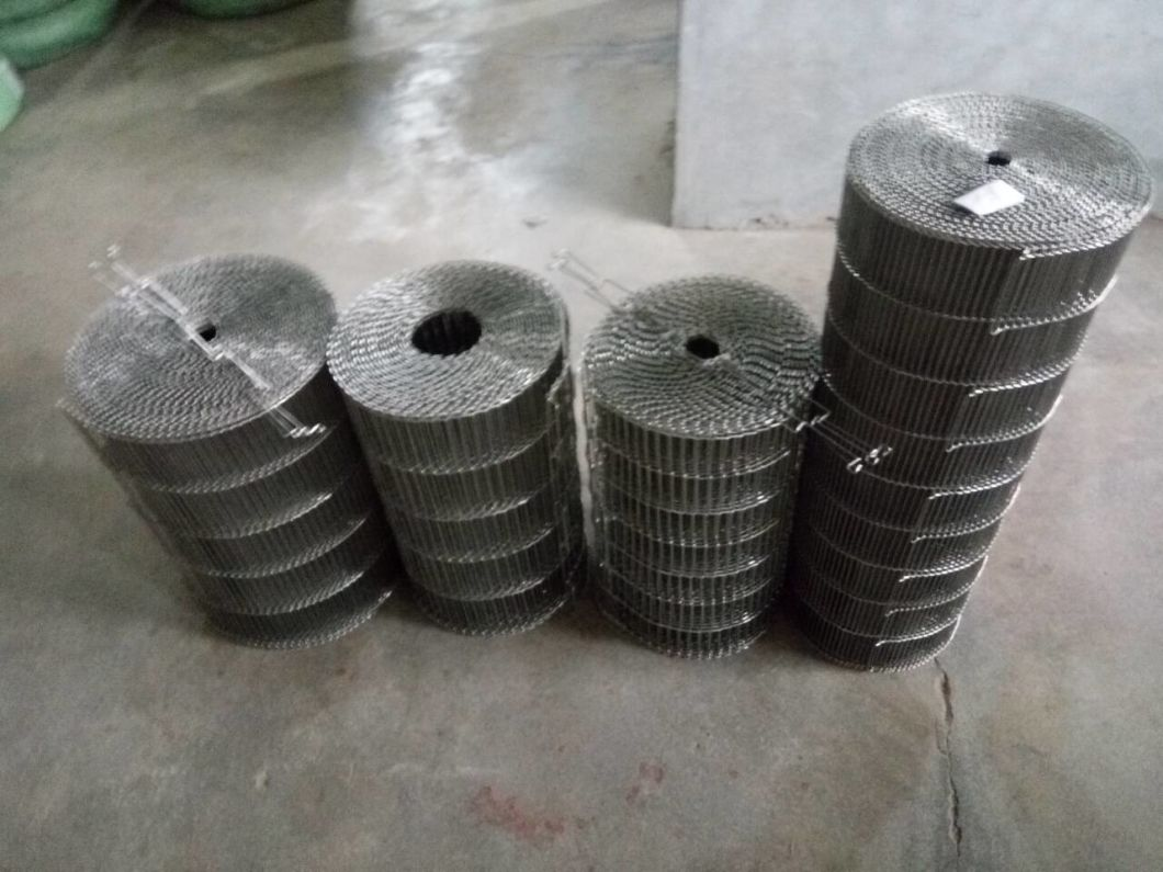 Metal Wire Mesh Belt for Food Processing Industry