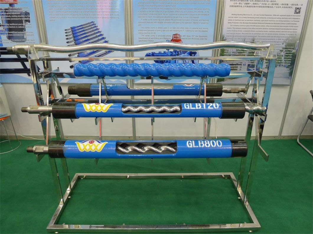 Well Pcp Rotor and Stator Screw Pump Glb Series