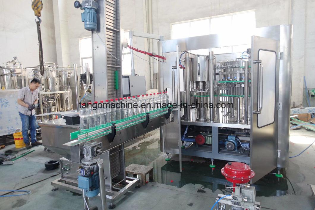 Automatic Pet Bottle Soda Water Filling Bottling Package Machine
