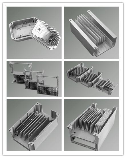 Casting Aluminum Parts Die Casting Radiator