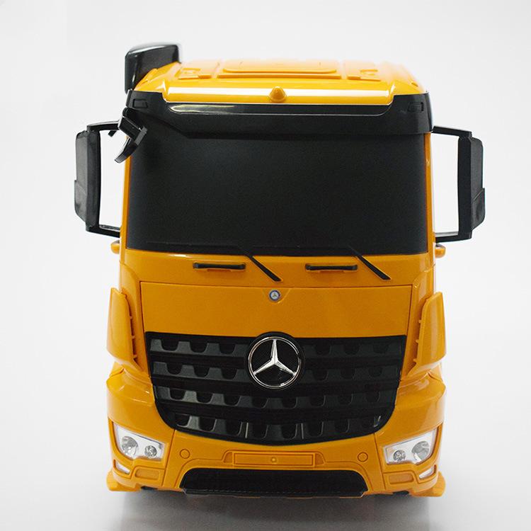 Newest Design RC Toys 1: 20 Plastic Remote Control Tractor Trailer Trucks