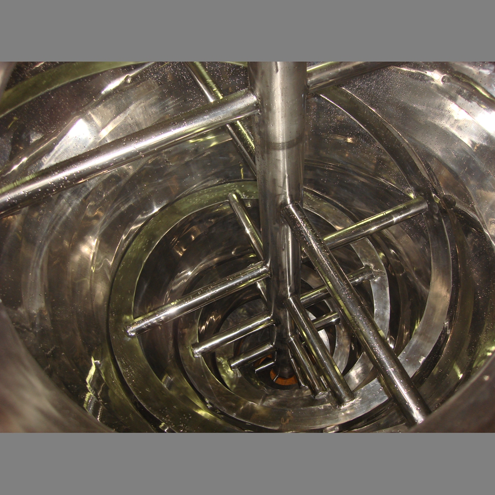 Vertical Tapered Mixer