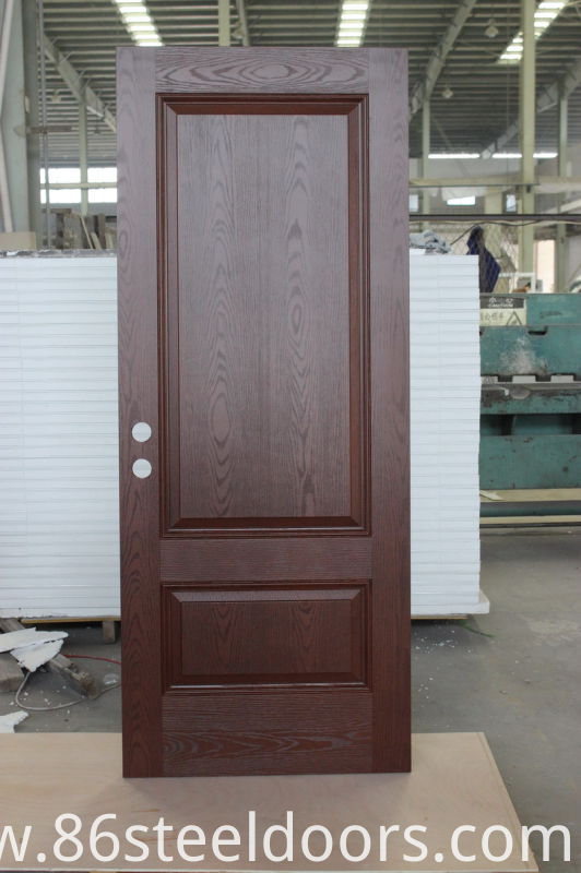 China exterior made of fiberglass double door manufacturers for Exterior door manufacturers