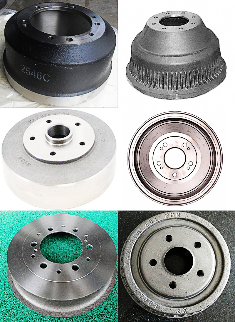 Car Brake Parts Cast Iron Factory Price Brake Drum for GM Cars Series