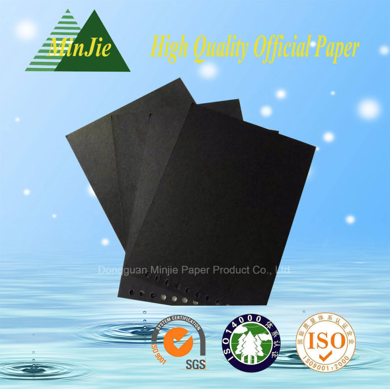 Different Gms A4, A3 Good Performance Durable Tear- Resistance Black Cardboard