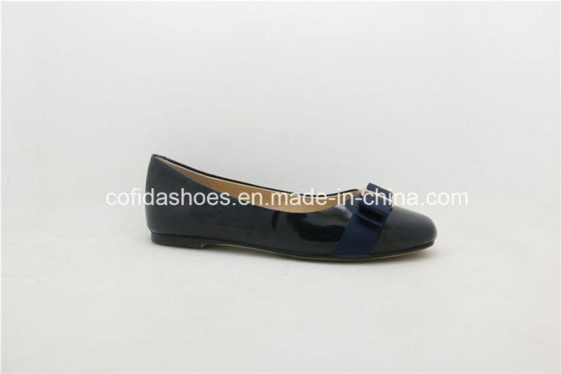 2017 New Fashion Flat Ballerina Women Leather Shoes