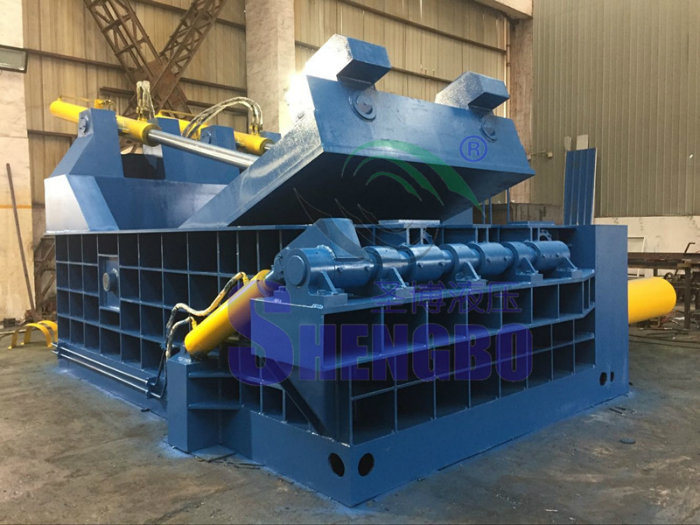 Factory Price Aluminum Cans Steel Tube Baler