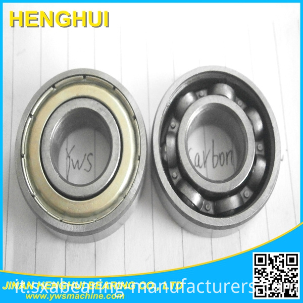 6201zz Bearing Steel Deep Groove Ball Bearing