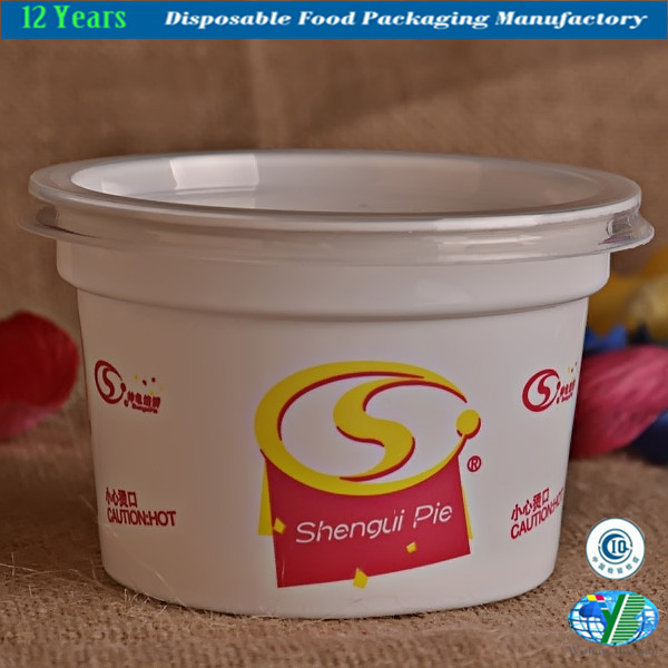High Quality of Plastic Ice Cream Bowl
