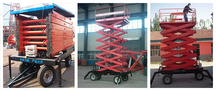 Adjustable Hydraulic Working Platforms