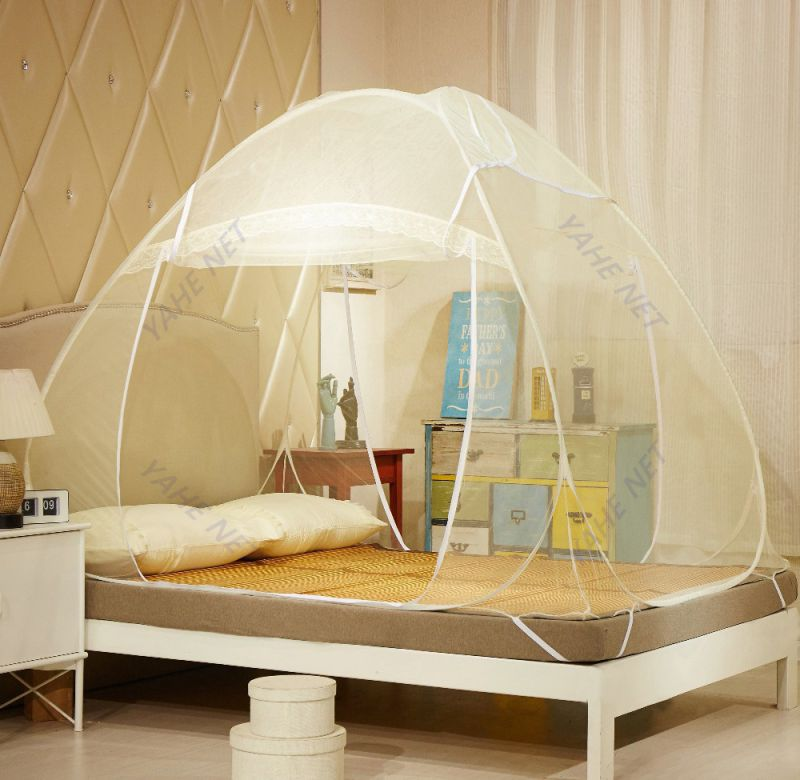 Portable Pop up Zipper Mosquito Net