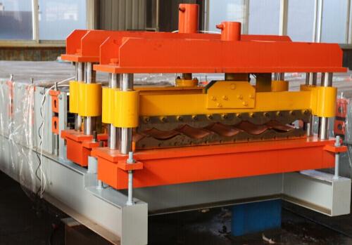 Metal Glazed Roofing Sheet Making Machine