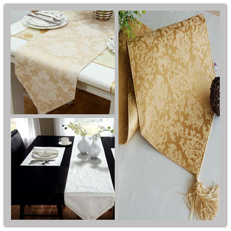 Jacquard Fabric Table Runner St1803