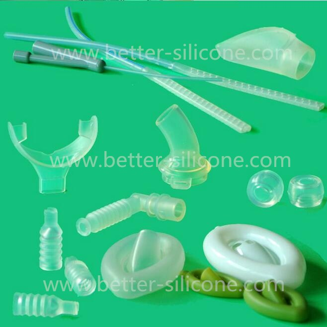 Medical Breathing Liquid Silicone Tube, LSR Bellow Tube