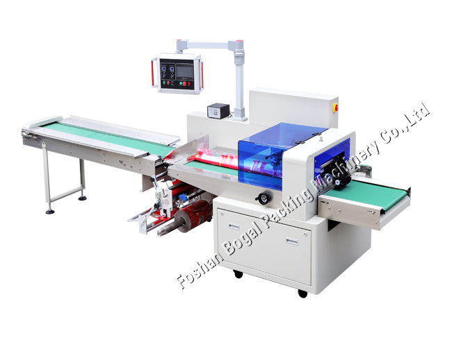 Automatic Big Bread Wrapping Horizontal Packing Machine Ald-450X 600X
