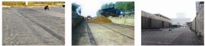 Polyester Geogrid for Road Railway Highway Tunnel