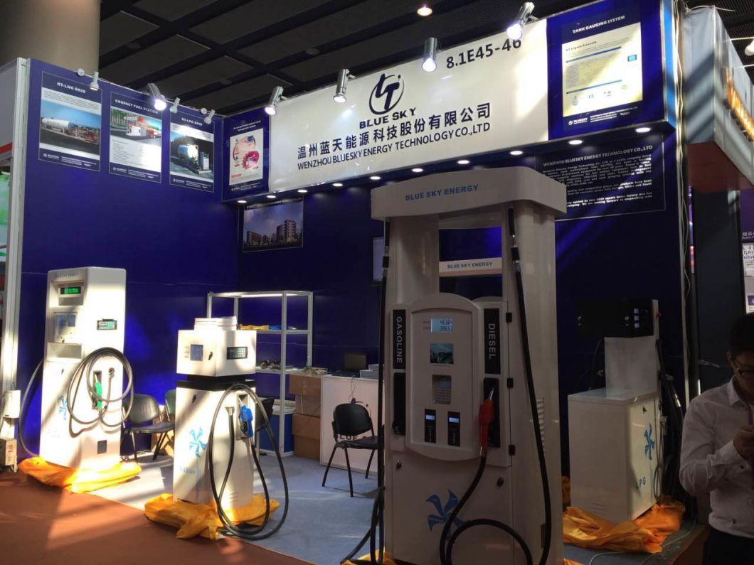 Hot Sale Series Fuel Dispenser Exhibitied in Canton Fair Rt-Fuel Dispenser