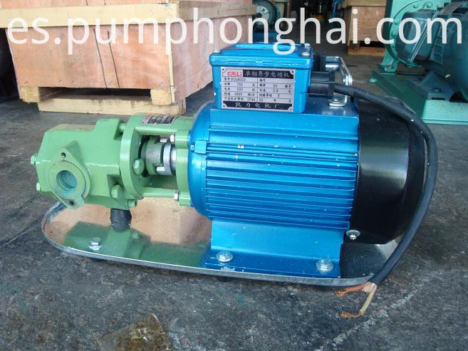 WCB hand oil gear pump
