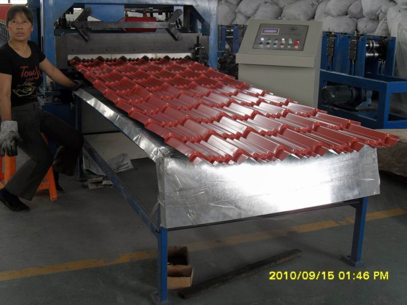 High Quality Color Steel Tile Roll Forming Machine