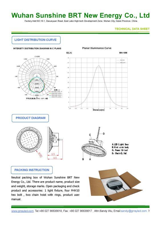 90W Industrial LED High Bay Canopy Light Fixture (Bfz 220/90 Xx F)