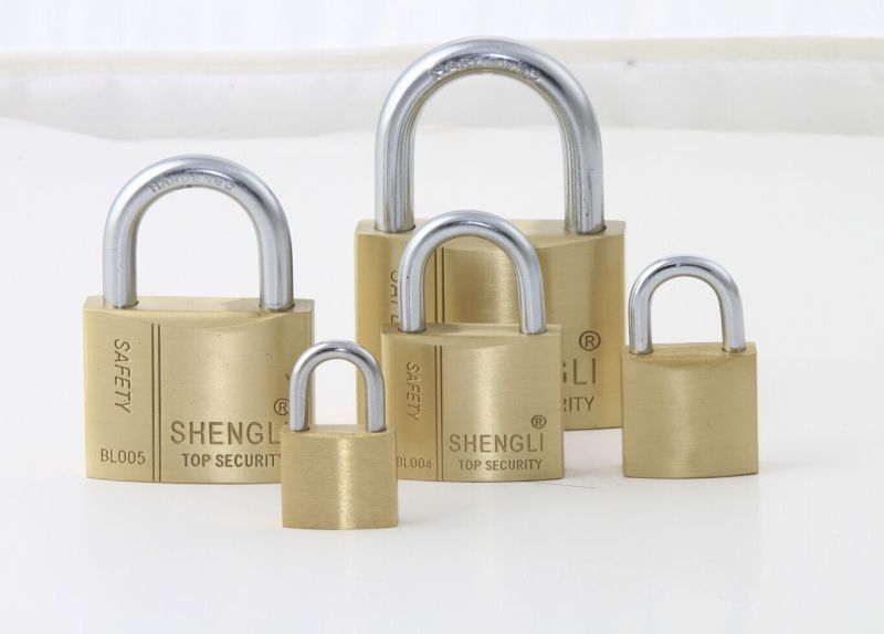 High Quality Europe Type MID-Heavy Duty Brass Padlock