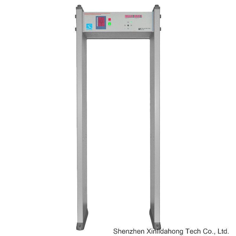 Intelligent Touch Screen Digital Most Popular Affordable and Convenient Walkthrough Metal Detector.