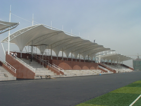 Prefab Galvanized Lightweight Space Stadium