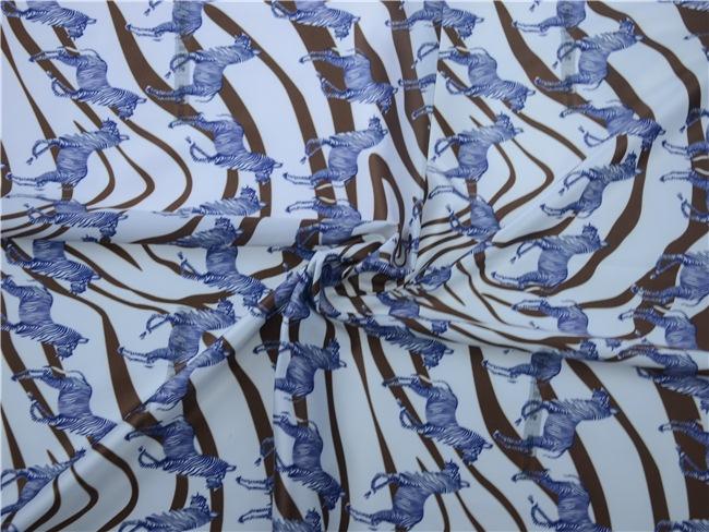 High Quality Custom Digital Printed Textile Woven Fabric (TLD-0033)