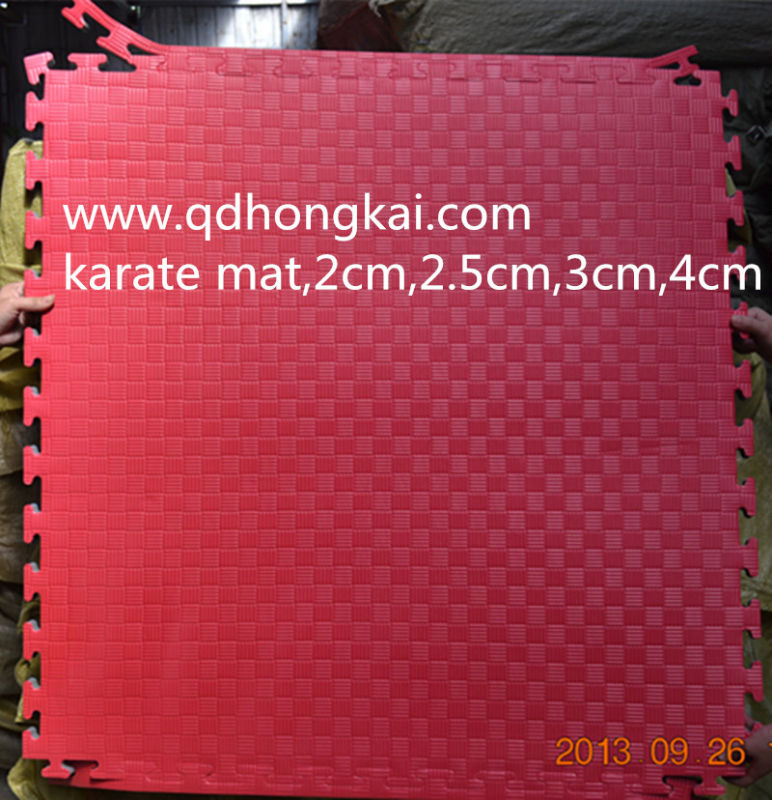 Non Slip EVA Martial Arts Flooring Gym Mat