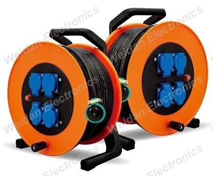 Euro Style Power Cable Reel 50meter, 3*1.5mm2