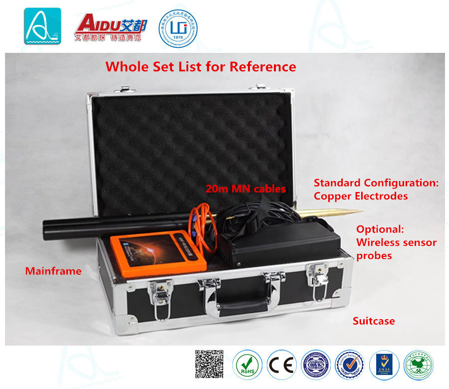 Admt-60d Mobile Phone 3D Mapping Hidden Danger of Levee Detector