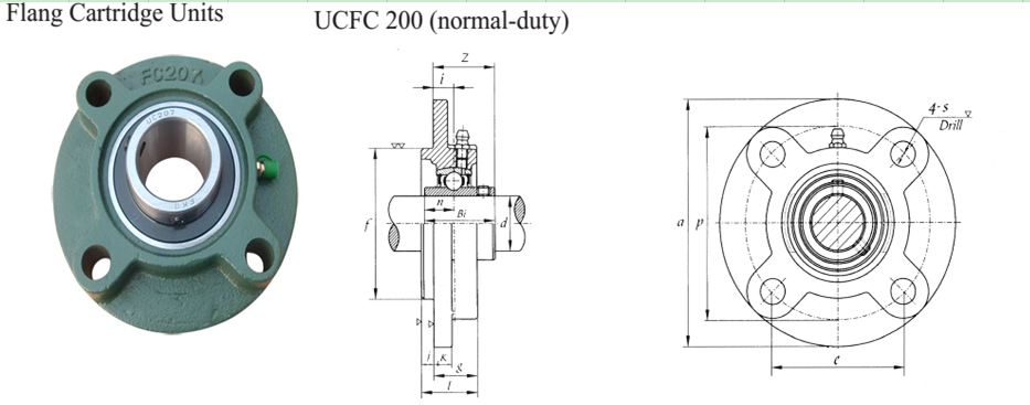 Bearing Housing Ucfc Bearing Ucfc200 Series