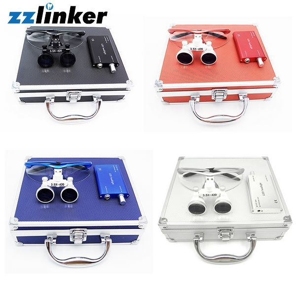 Lk-T04 Colorful Dental Loupe with Light