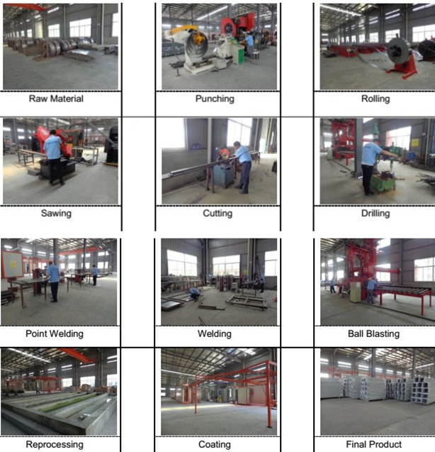 China Medium Duty Gondola Metal Supermarket Shelf