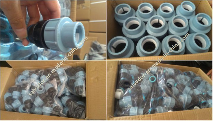 PP Compression Fittings Equal Tee Pn10 Factory Top Quality