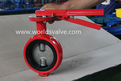 Ductile Iron Ggg50 Demco Industrial Butterfly Valve (D71X-10/16)