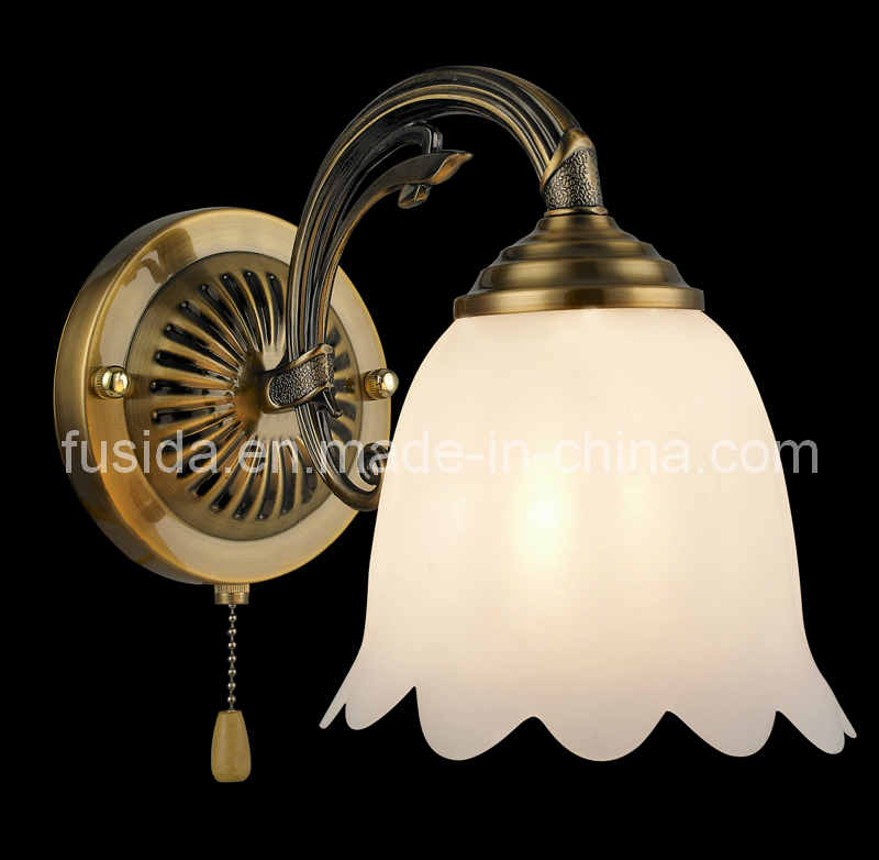 European Style Indoor Wall Light & Wall Lamp with Glass