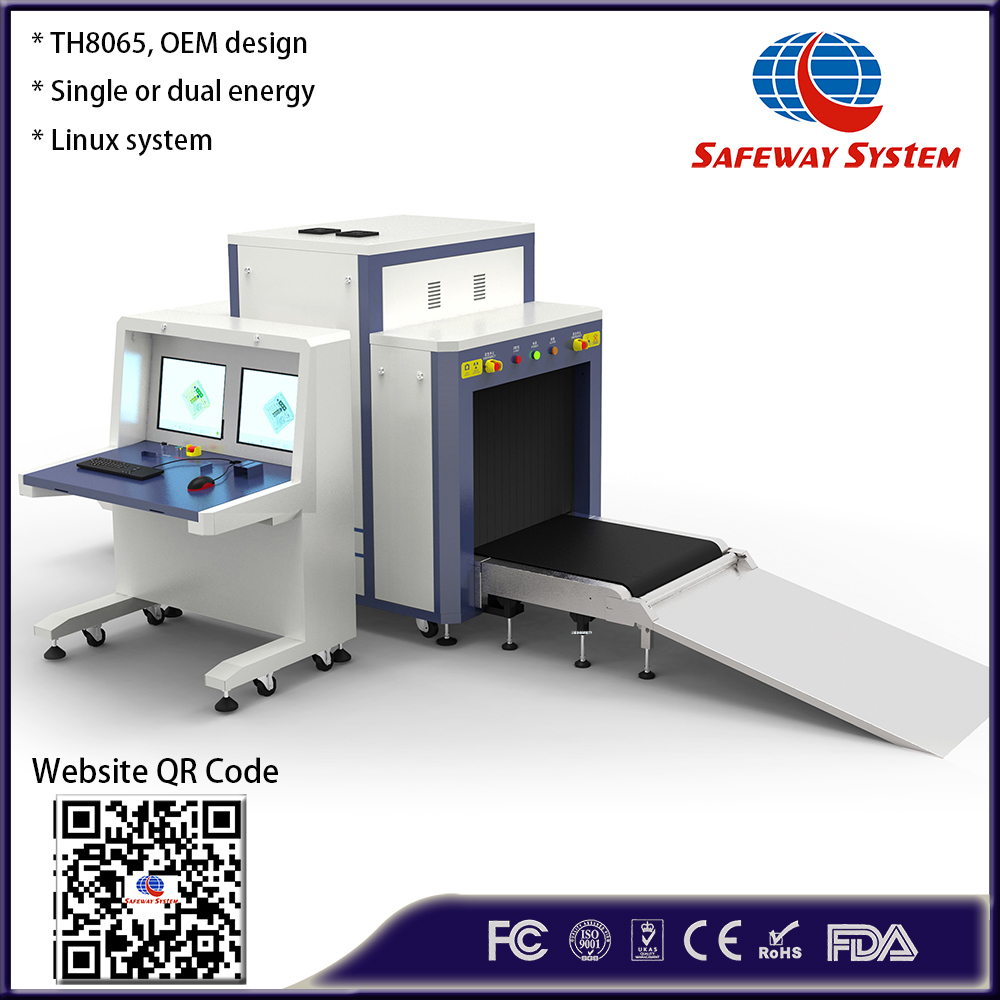 Manufacturer High Performance X-ray Baggage Scanner, Luggage Security Checking Machine