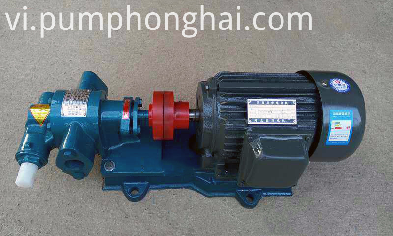 KCB18.3-KCB83.3 food oil gear pump: