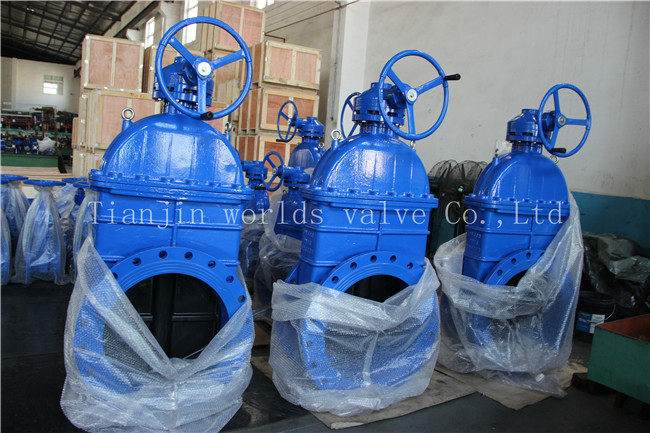 ASTM Non-Rising Stem Ggg50 Gate Valve with Ce ISO Wras Approved (Z45X-10/16)