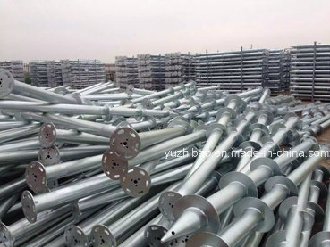 Factory Based High DIP Galvanized Ground Screw